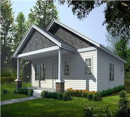 House Plan #162-1015