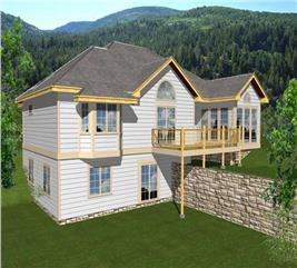 House Plan #162-1018