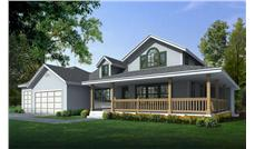 Main image for house plan # 19422