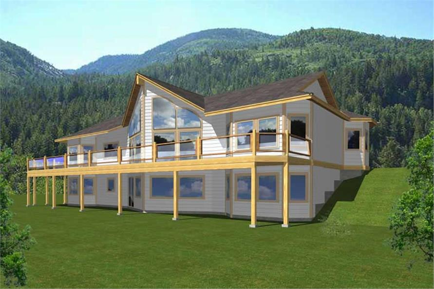 Main image for house plan # 18628