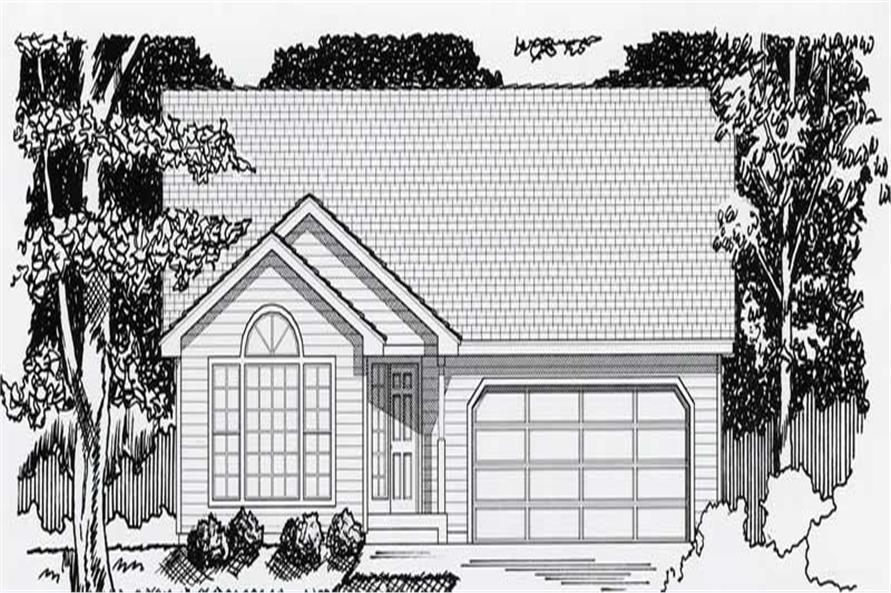 Main image for house plan # 18422