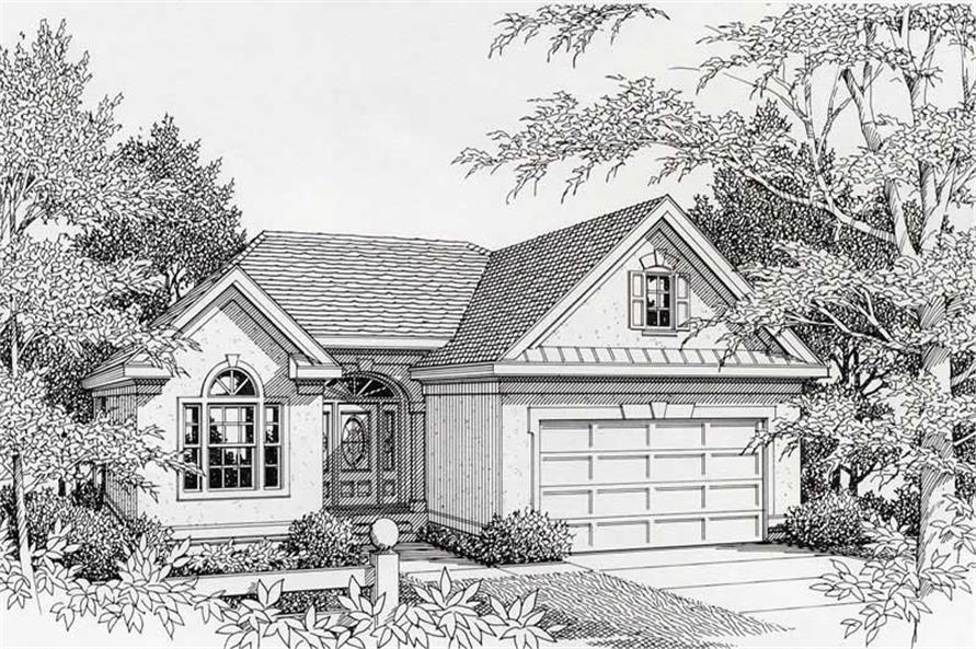 Main image for house plan # 18428