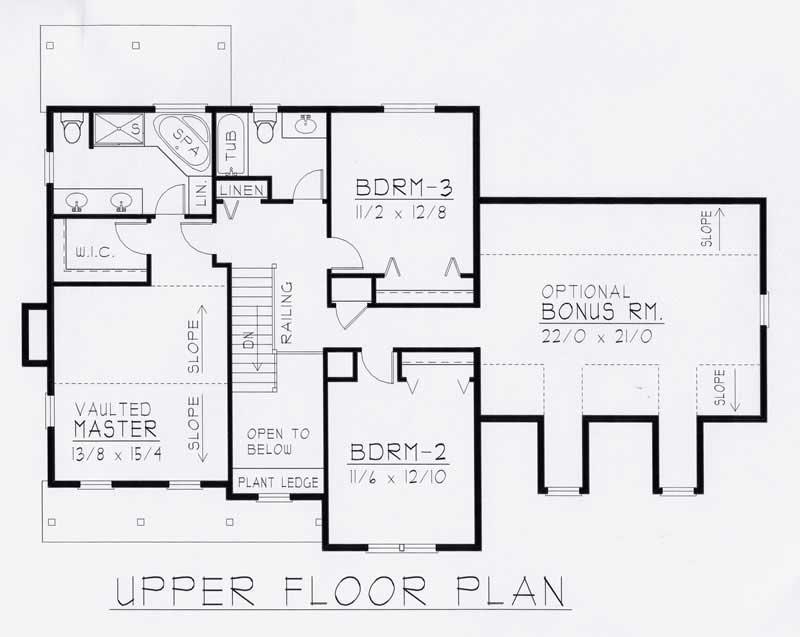 3 bedrm 2059 sq ft european house plan 162 1028 for 162 plan