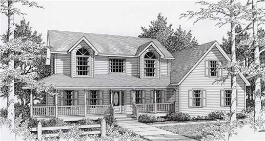 Main image for house plan # 18528