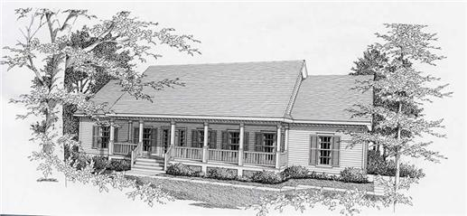 Main image for house plan # 18476