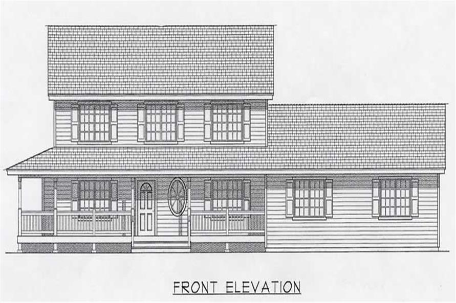 Main image for house plan # 18836