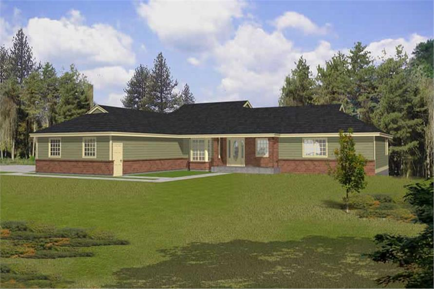 Main image for house plan # 18914