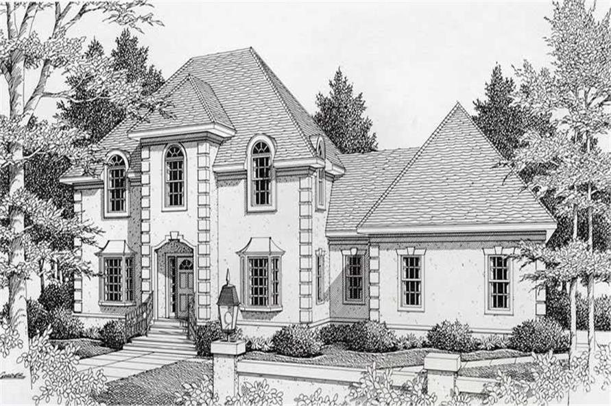 Main image for house plan # 18889
