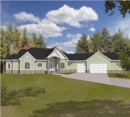 House Plan #162-1041