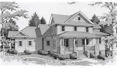 Main image for house plan # 19126