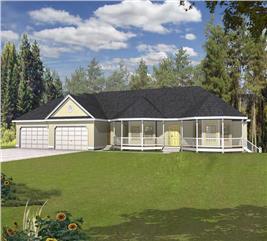 House Plan #162-1043