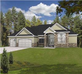 House Plan #162-1044
