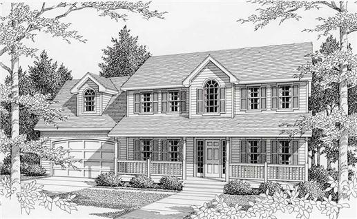 Main image for house plan # 18813