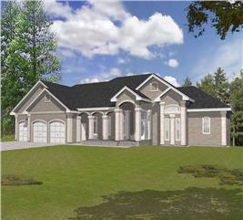 House Plan #162-1047