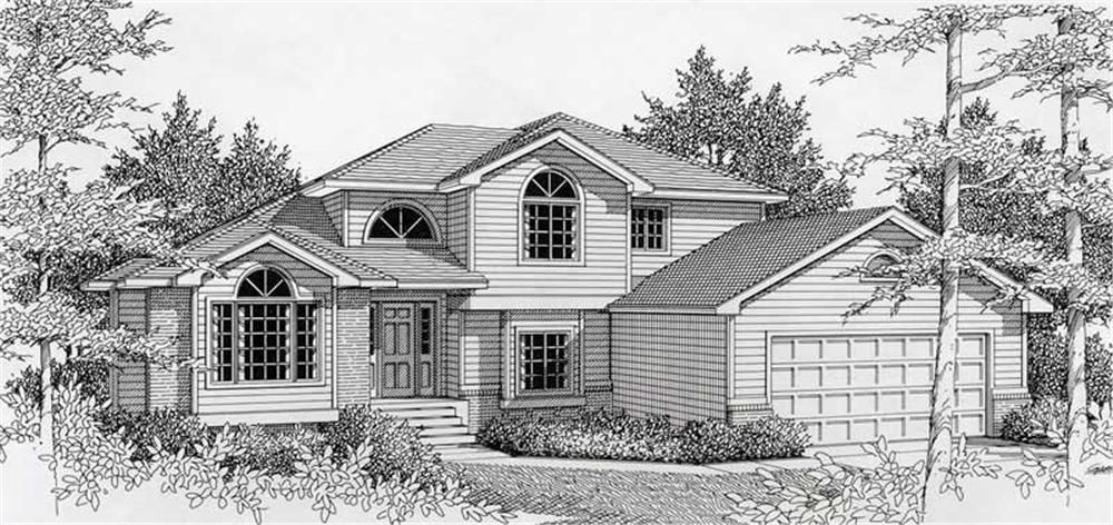 Main image for house plan # 18891