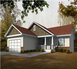 House Plan #162-1061