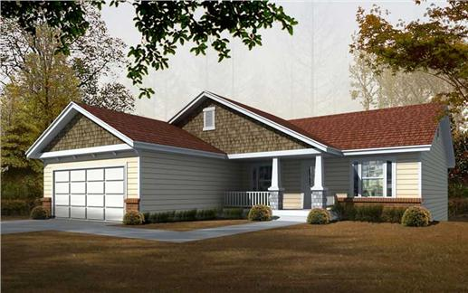 Main image for house plan # 19527
