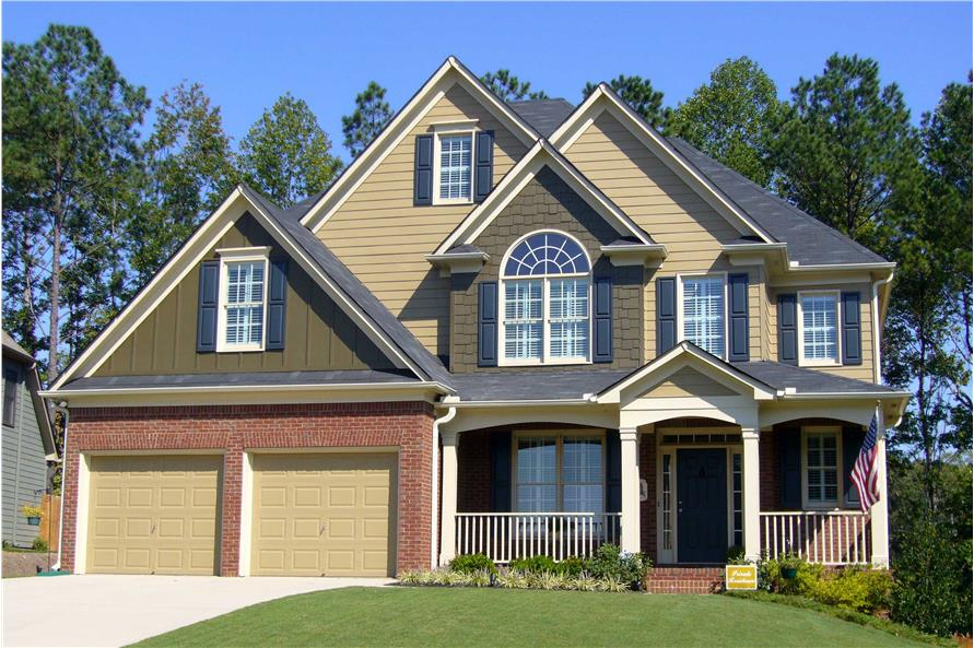 Home Exterior Photograph of this 4-Bedroom,2757 Sq Ft Plan -2757