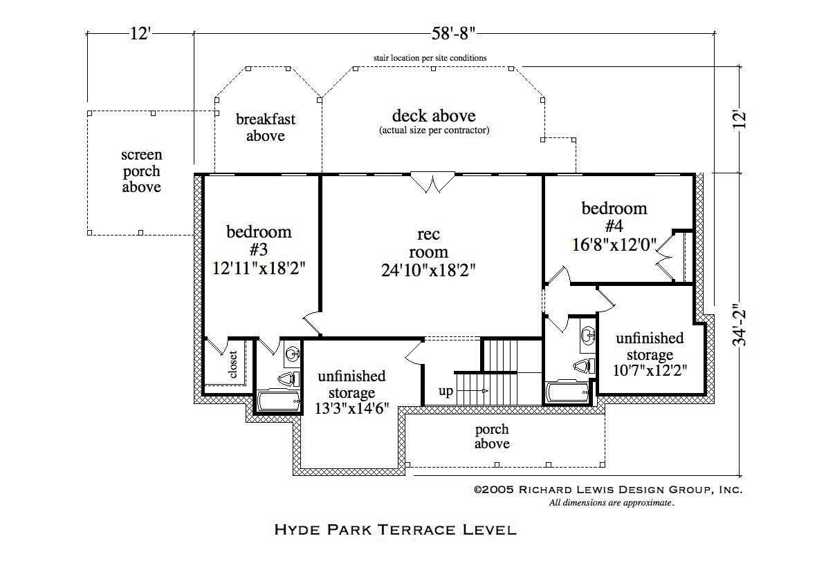 Country house plans home plans hyde park for Hyde homes floor plans