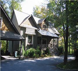 House Plan #163-1015