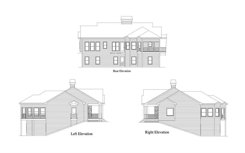 Home Plan Elevations
