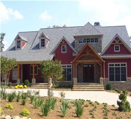 House Plan #163-1027