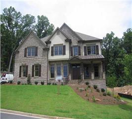 House Plan #163-1034