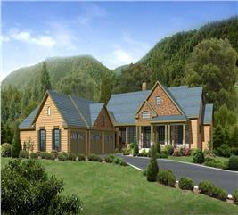 House Plan #163-1035