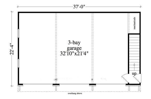 163-1037: Floor Plan Main Level