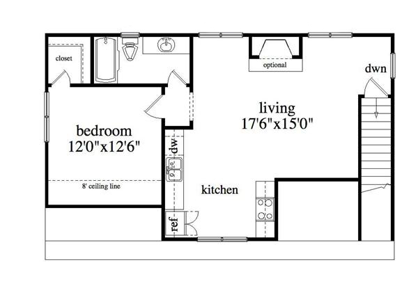 163-1037: Floor Plan Upper Level