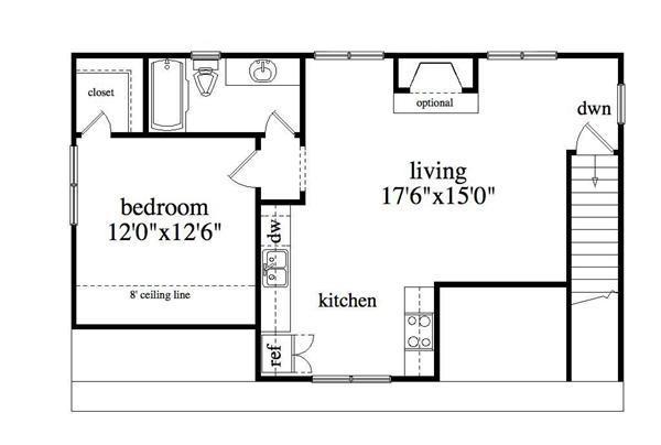 163-1037: Floor Plan Upper Level