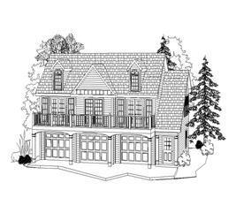 House Plan #163-1045
