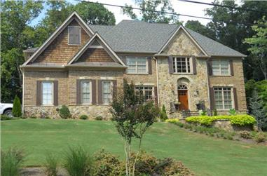 5-Bedroom, 3920 Sq Ft Country Home Plan - 163-1046 - Main Exterior