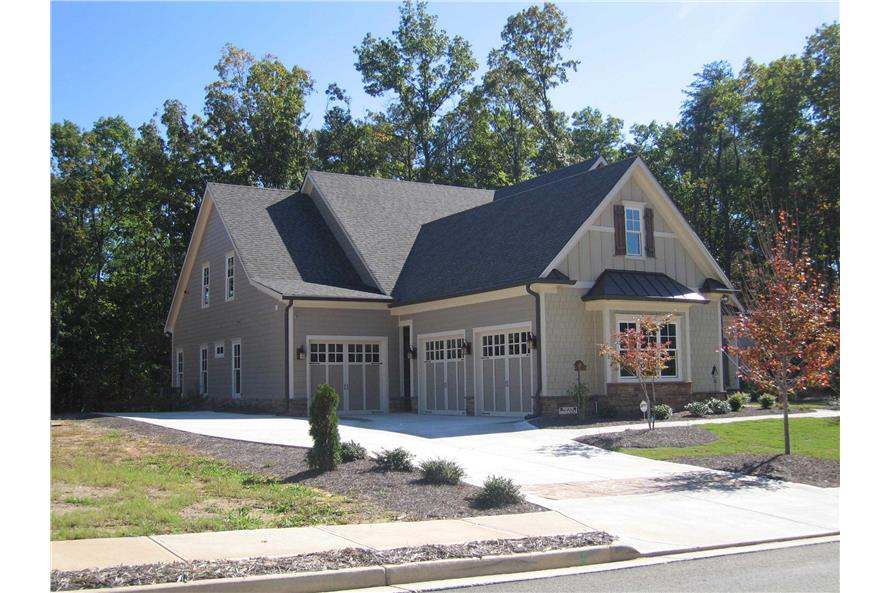 Garage of this 6-Bedroom,5628 Sq Ft Plan -5628