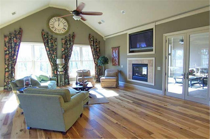 Great Room of this 6-Bedroom,5628 Sq Ft Plan -5628