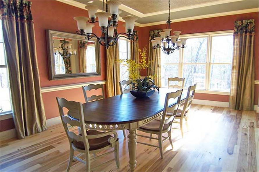 Dining Room of this 6-Bedroom,5628 Sq Ft Plan -5628