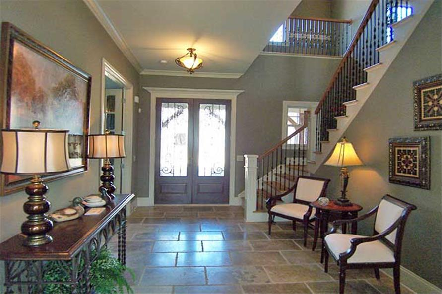 Entry Hall: Foyer of this 6-Bedroom,5628 Sq Ft Plan -5628