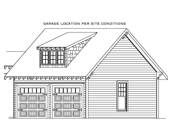 163-1050: Floor Plan Garage