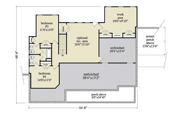 Floor Plan Terrace