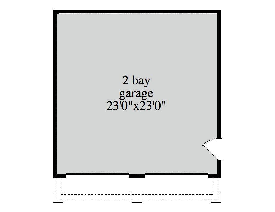 163-1051 garage plan