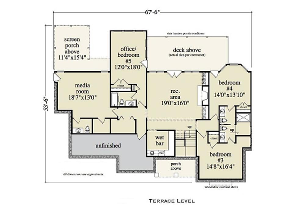 163-1052 terrace level