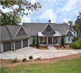 House Plan #163-1055