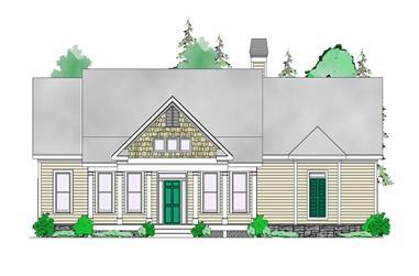 3-Bedroom, 1816 Sq Ft Craftsman House Plan - 163-1056 - Front Exterior