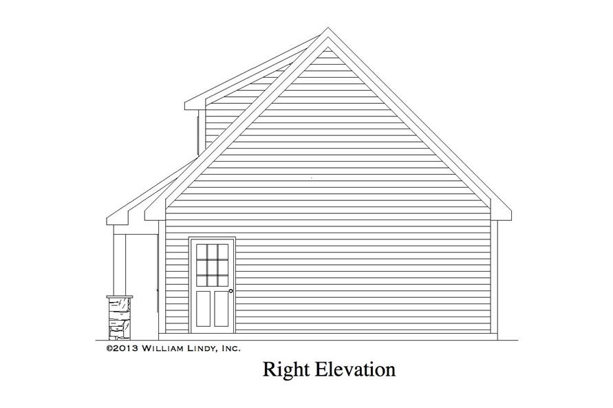Home Plan Other Image of this 0-Bedroom,600 Sq Ft Plan -600