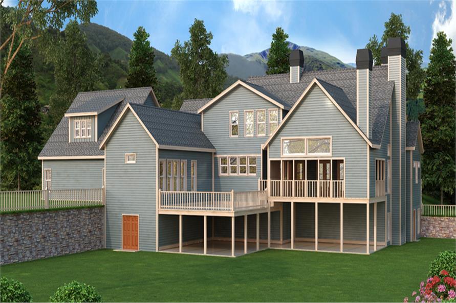 163-1063: Home Plan Rendering