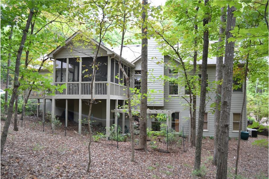 163-1065: Home Plan Rendering