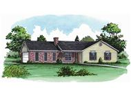 Main image for Traditional house plans # 1743
