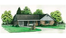 Main image for Transitional house plan # 1733