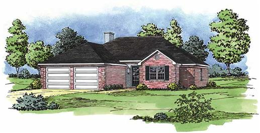 Main image for Ranch house plans # 1745
