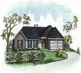 House Plan #164-1040